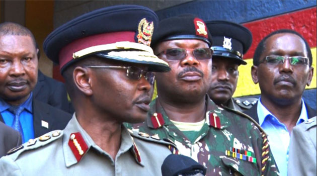 Inspector General of police Joseph Boinnet says one group is now pledging allegiance to Islamic State while another one is supporting Al-Qaed/FILE