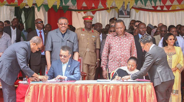 The pact signed in the border town of Moyale aims to empower the local communities in order to bridge the isolation gap that has been a barrier to development by fostering peace through prosperity/PSCU