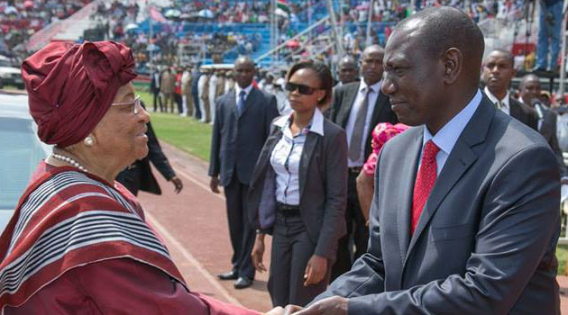 Speaking during this year's Jamhuri day celebrations at Nyayo National Stadium, Ruto said Kenya is a democratic country and any Kenyan has a right to demand for answers on case of misuse of public resources. Photo/DPPS.