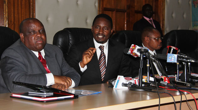 Cabinet Secretary Mwangi Kiunjuri pointed out that a lot of work still needs to be done before the expiry of TA's term in March and expressed his commitment in ensuring that devolution succeeds/MIKE KARIUKI