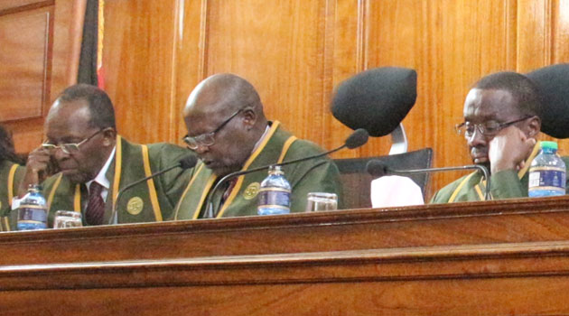 CJ Mutunga said the report, which was prepared following an internal investigation he ordered on the allegations made in a sworn affidavit, was ready/FILE