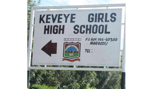 Each of the teachers at Kavenye Girls' High School is seen caning the girls one after the other/FILE