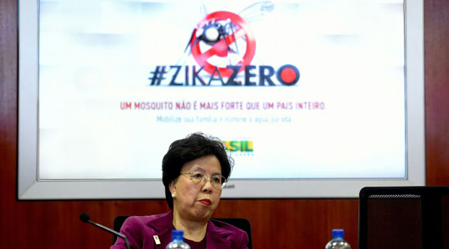 WHO Director-General praised the Brazilian government's efforts to stamp out mosquitoes and its coordination with various international bodies ahead of the Games' August 5 kickoff/AFP