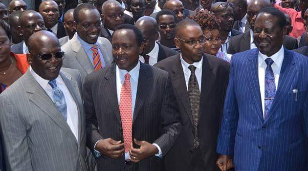 CORD accused IEBC of snubbing them despite having been forewarned about the visit while the electoral body accused the Opposition party of disregarding communication/CFM NEWS