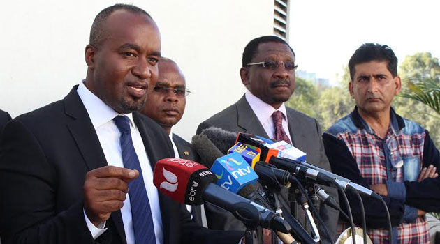 Governor Joho said in a Facebook post that they were contacted to report to Malindi police station and record statements including robbery with violence incidents that took place during the recent Malindi by-election/FILE