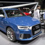 The New Audi RS Q3 performance is on display during the press day at the 86th Geneva International Motor Show in Geneva, Switzerland, 01 March 2016. The Motor Show will open its gates to the public from 03 to 13 March presenting more than 200 exhibitors and more than 120 world and European premieres.  EPA/MARTIAL TREZZINI