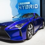 The New Lexus LC 500H is shown at the 86th Geneva international motor show at the Palexpo Congress Center in Geneva, Switzerland, 01 March 2016. The 86th Geneva international motor show will be open from 3 to 13 March 2016.  EPA/CYRIL ZINGARO