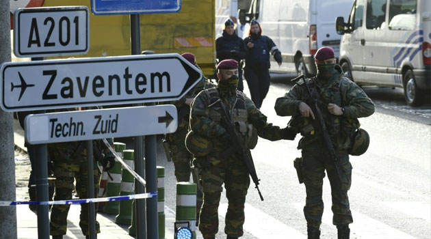 Brussels airport has been closed since Islamic State suicide bombings on March 22, 2016/FILE