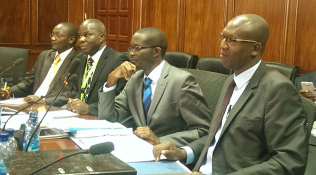 IEBC Chief Executive and Secretary Ezra Chiloba is slated to appear on Tuesday regarding the same matter/FILE