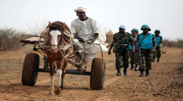 Sudan ups pressure for exit of Darfur peacekeepers/AFP