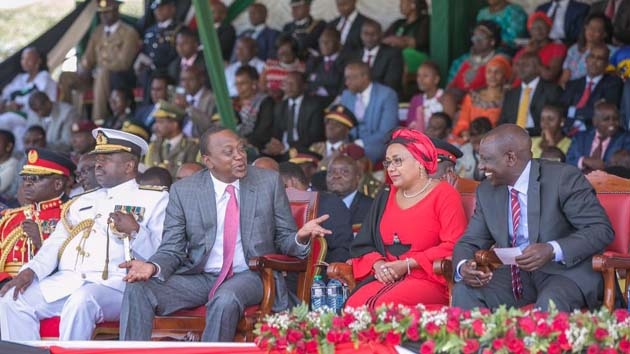 President Kenyatta expressed a willingness to dialogue with opposition/COURTESY