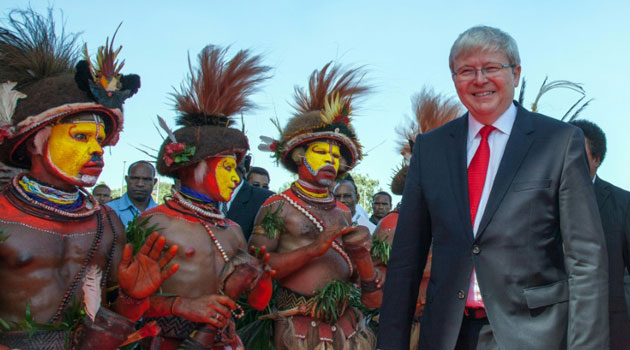 Kevin Rudd is based in New York as head of the policy institute Asia Society and served as Australian prime minister from 2007 to 2010, and again in 2013/AFP