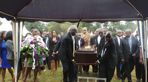 Those who attended the burial included Law Society of Kenya President Isaac Okero, prominent lawyer Paul Muite as well as MPs/KEVIN GITAU