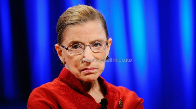 """Justice Ruth Bader Ginsburg, pictured in 2010, said her comments on Donald Trump's candidacy were """"ill-advised""""/AFP"""