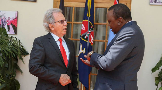 The President was speaking Wednesday at State House, Nairobi, when he bade farewell to outgoing Cuban Ambassador Raul Rodriguez Ramos/PSCU