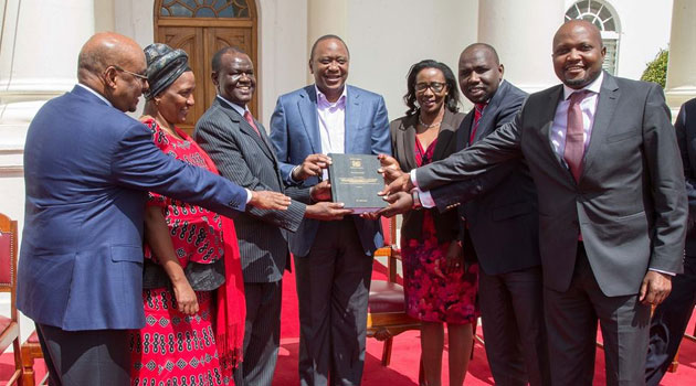President Kenyatta thanked members of the committee for their exemplary work delivered against a background of tight deadlines/PSCU
