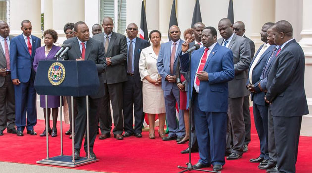 President Kenyatta commended both sides for showing restraint, negotiating in good faith and reaching the agreement within the October deadline he had instructed/PSCU