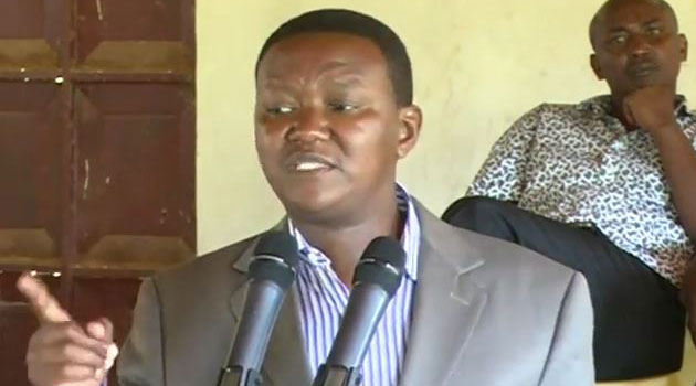 Mutua said he would no longer sit back and allow his former party leader to malign him at public fora/CFM