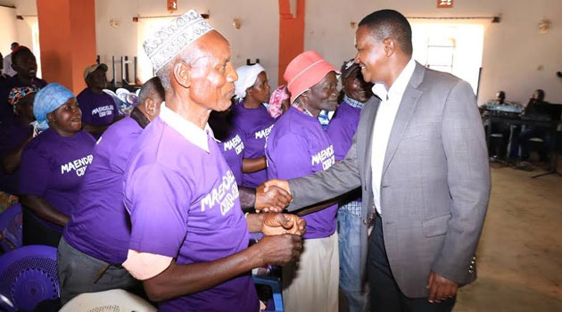 Mutua who held an interactive forum with residents and leaders of Ikutha Ward in Kitui South constituency was hosted by area MCA Hussein Mwandia/CFM NEWS