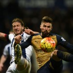 Arsenal lose ground in West Brom defeat