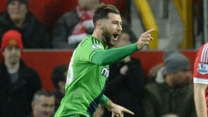 Charlie Austin hailed Southampton's defensive efforts at Old Trafford before he came on to sink Manchester United 1-0 in the Premier League. PHOTO/Omni Sport