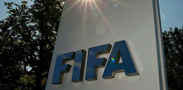 The logo of FIFA is seen in front of its headquarters in Zurich, Switzerland July 20, 2015. Image: ARND WIEGMANN REUTERS