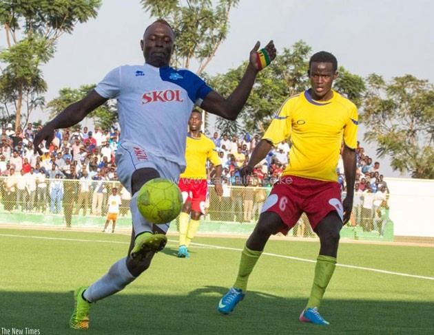 Malian Striker Ismaila Diarra in action for his Rwandan side Rayon Sports.PHOTO/The New Times