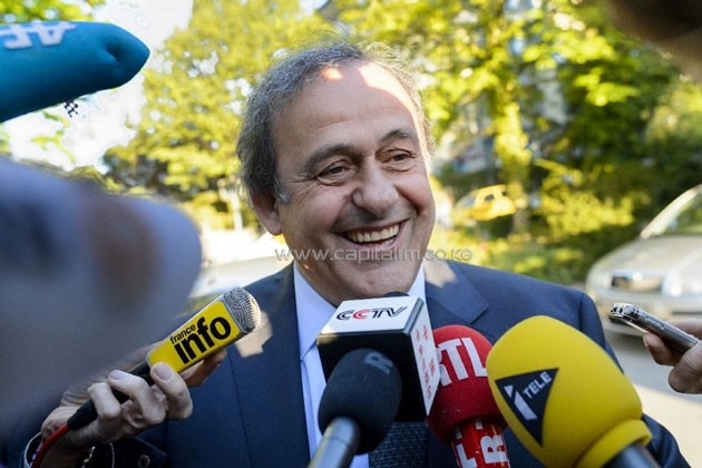 Michel Platini arrives to appear before the Court of Arbitration for Sport to appeal his six-year FIFA ban for ethics violations in Lausanne on April 29, 2016 Michel Platini arrives to appear before the Court of Arbitration for Sport to appeal his six-year FIFA ban for ethics violations in Lausanne on April 29, 2016 (AFP Photo/Fabrice Coffrini)
