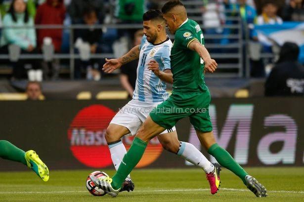 Sergio Aguero has been on the fringes of the Argentina team during Copa America.PHOTO/courtesy.