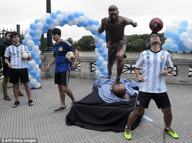 Lionel Messi's decision to retire from international football has shocked the whole of Argentina. PHOTO/DM.