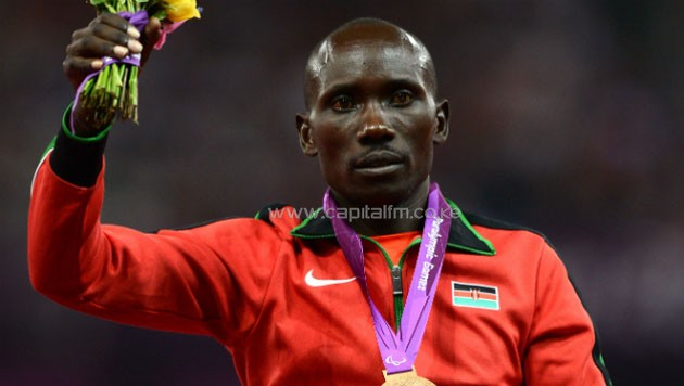 The win saw Kirwa add on the gold to the bronze he won in the 1500m –T13 on Monday morning at the Olympic Stadium in Rio and take Kenya's medal tally to five so far.PHOTO/courtesy