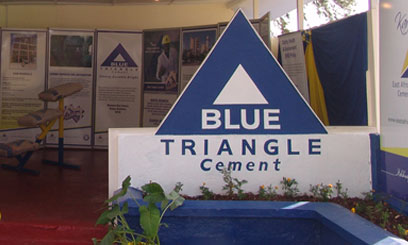 Blue Triangle cement is a product of EAPCC/ FILE