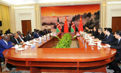 RAILA CHINA - Chinese investors urged to support public-private partnerships in Kenya