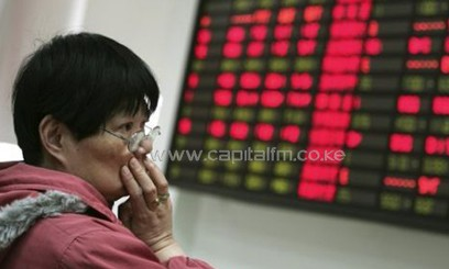 China stock exchange/FILE