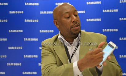 Samsung Electronics East Africa MD Robert Ngeru emphasised that customer consumption will continue to drive economic activity/FILE