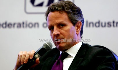 Geithner had said he would leave the department after the conclusion of Obama's first four-year term/XINHUA