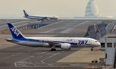 The batteries in the two 787s failed less than two weeks apart, causing a fire on one planes and smoke in another/FILE