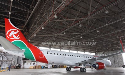 Kenya Airways' acting commercial director, Jimmy Kibati, said that this followed the signing of a mutual termination agreement between the two firms, effective from April 1, 2013/FILE