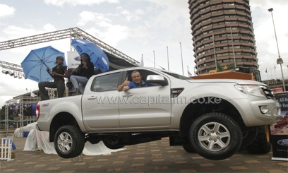 The Ford Ranger is among the car models sold by CMC Holdings. Photo/ FILE