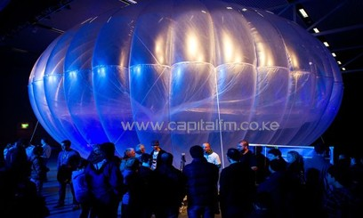 Google plans to beam the Internet from giant balloons sent to the stratosphere/AFP