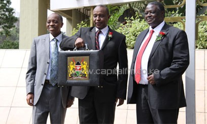 National Treasury Secretary Henry Rotich delivered the Budget statement on Thursday. Photo/ MIKE KARIUKI