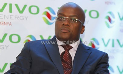 """Additional storage will enable Vivo Energy Kenya to support its rapidly growing retail business which has witnessed a 54 per cent growth over the last three years. It also increases flexibility to support inland markets like Uganda."" said Vivo Energy Kenya Managing Director, Polycarp Igathe/FILE"