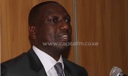 Ruto said that there is the need to address infrastructure challenges, cost of deployment and access so that more people can be able to enjoy the service at a lower cost/FILE