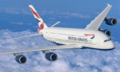 British Airways is deploying on trial a new electronic bag tag. Photo/ Britishairways.com