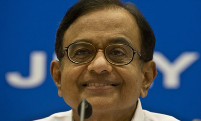 Indian Finance Minister P. Chidambaram addresses a press conference in New Delhi, on July 31, 2013/AFP