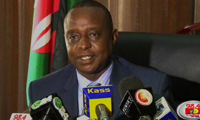 National Treasury Cabinet Secretary Henry Rotich says any trader found contravening the provisions of the new VAT Act will be liable to prosecution/FILE