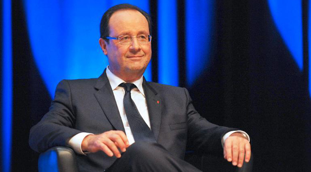 French leader Francois Hollande/AFP