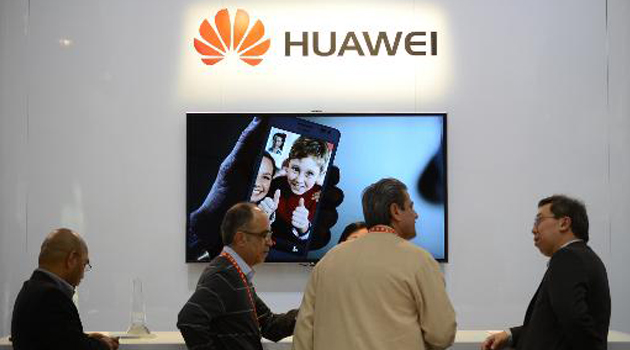 China's Huawei company/AFP
