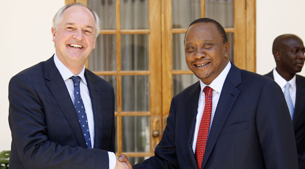 Polman told President Uhuru Kenyatta at State House Nairobi that the planned investment will cater for the company's expanding interests in the greater eastern African region/PSCU