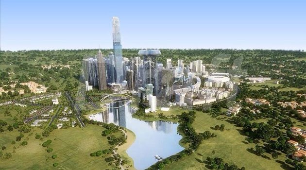 An impression of the proposed Machakos City which will also increase Kenya's capacity to host MICE. Photo/ FILE